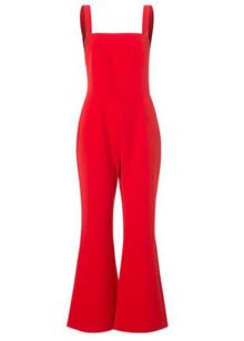 Résumé Landa jumpsuit i rød