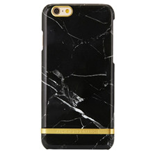 Richmond & Finch iPhone 6/6S cover Black Marble Glossy