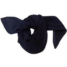 Rosenvinge lille Plizze tørklæde i navy