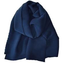 Rosenvinge stort Blizze tørklæde i navy