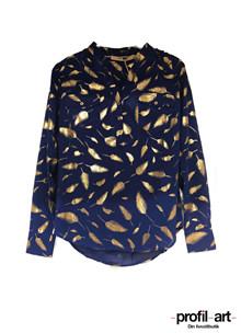 Rue De Femme doodle skjorte i blå