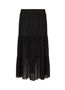 Second Female Henri nederdel med prikker i sort