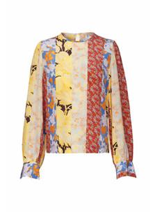 Stine Goya Karolina bluse i mønstret