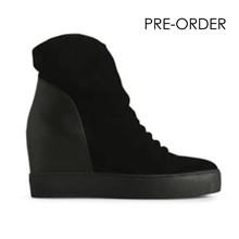 Shoe the Bear Trish støvle i sort/sort