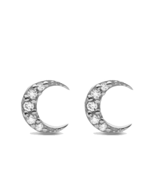 Maanesten Night ørering i sølv