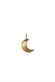 Jane Kønig Half Moon vedhæng i guld