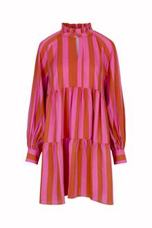 Stine Goya Jasmine kjole i pink