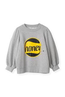 Ganni Lott Isoli sweatshirt i grå