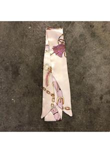 Trend It Silketørklæde i beige/lyserød