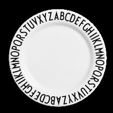 Design Letters Melamin flad tallerken
