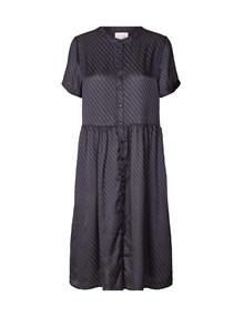 Lollys Laundry Aliya kjole i navy