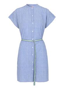 Becksöndergaard Casey Striped kjole i blå