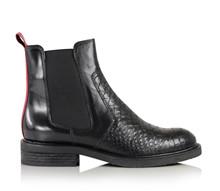 Billi Bi Polo Tenerife støvle med for i sort