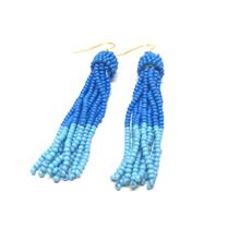 By Bram øringe perle i blå
