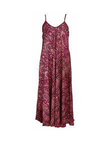 Black Colour Luna summer kjole i lilla
