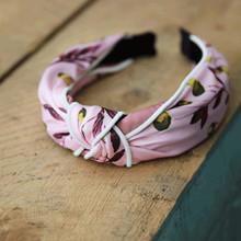 Lé Mosh Silla Rosa Hårbøjle i lyserød