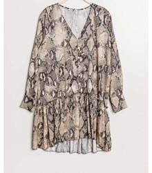 EMM Copenhagen Python kjole i Camel