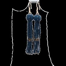 ByMickleit Tasseløreringe i mørkeblå
