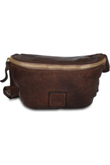 campomaggi Small Bum Bag bæltetaske i mørke brun
