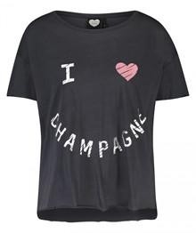 Catwalk Junkie Tipsy T-shirt i mørkegrå