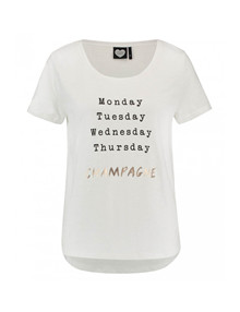 Catwalk junkie Friday t-shirt i off white