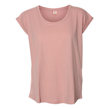 Custommade Lonnie T-shirt i rosa