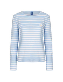 Resume Daisy langærmet T-shirt i lyseblå