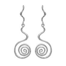 Maanesten Day øreringe i sølv