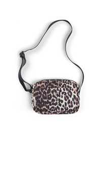 Ganni Fairmont Accessories taske i leopard