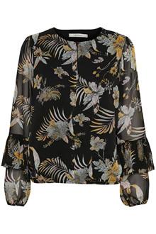 Gestuz Maui bluse i mønstret