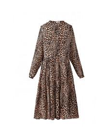 Noella Lipe kjole i leopard print