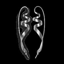 Jane Kønig Ringlet øreringe i sølv
