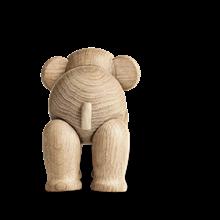 Kay Bojesen mini elefant i ubehandlet eg