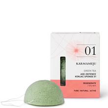 Karmameju Green Tea konjac svamp 01