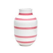 Kähler Omaggio stor vase med rosa