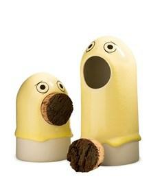 Arhøj Studio keramik lille gul Sing spøgelse med prop