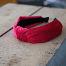 Lé Mosh Vilma hårbøjle i rød