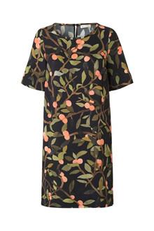 Stine Goya Lee dress Peach tree i sort