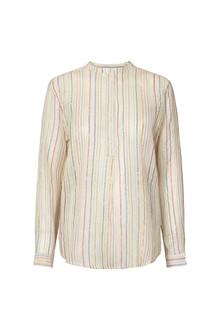 Lollys Laundry Lux skjorte i off-white