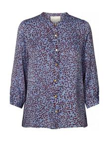 Lollys Laundry Amalie bluse i mønstret