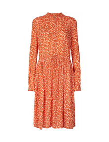 Lollys Laundry Sienna kjole i orange
