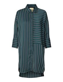 Lollys Laundry Karolina skjorte i grøn