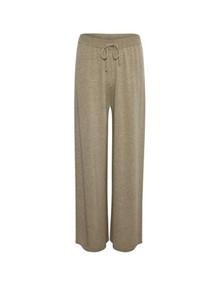 Lounge NIne Emy L strik bukser i beige