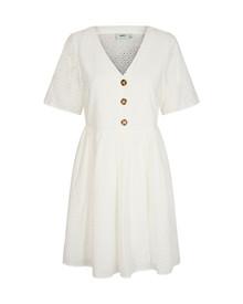 Moves By Minimum Evalisa kjole i hvid