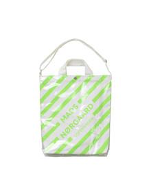 Mads Nørgaard Bag M tote i neon grøn