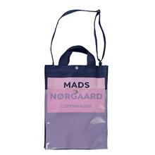 Mads Nørgaard Bag R taske i navy/lyserød