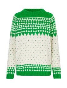Mads Nørgaard Iceland Kanona uld strik i grøn