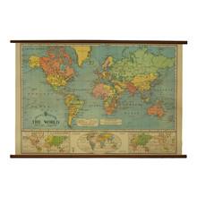 Mayol  Vintage World Map