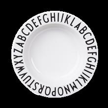 Design Letters Melamin dyb tallerken