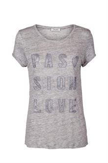 Mos Mosh Crave Glam T-shirt i grå